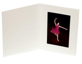4x6 / 6x4 Soft Linen Range Cream Photo Folder - Portrait