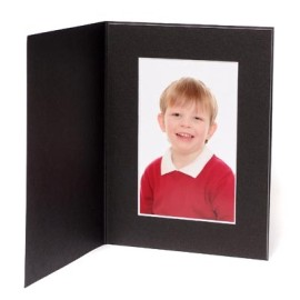 10x8 / 8x10 Black Moonlight Photo Folder - Portrait