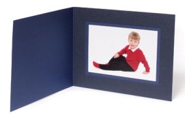 6x4 / 4x6 Blue Karnival Photo Folder - Landscape