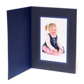 8x6 / 6x8 Blue Karnival Photo Folder - Portrait