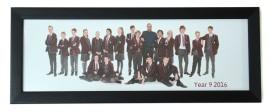 6x18 Panormamic Black Photo Frame