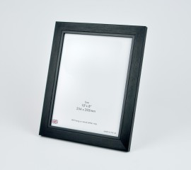 10x8 Brushed Black Photo Frame