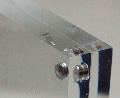 4x6 / 6x4 Acrylic Magnetic block photo frame