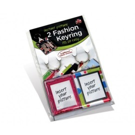 Adventa Fashion Keyring Twin Pack