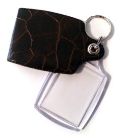 Photograph Keyring / Key Fob with Photo Insert