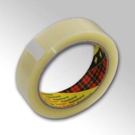Clear Sellotape 3M Scotch Parcel Packing Packaging Tape 25mm x 66m