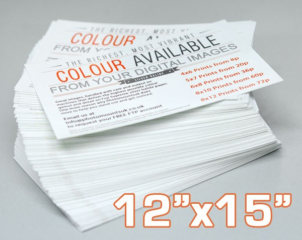 12x15 Inch Professional Photographic Print