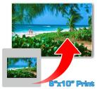 8x10 Inch Photographic Print From Your 35mm Mounted Slide