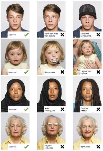 passport photographs dos and donts